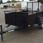 Summit Mfg Alpine 5x8 Landscape Utility Trailer Roadside Front View