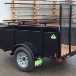 Summit Mfg Alpine 5x8 Landscape Utility Trailer Roadside Rear View