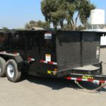Big Tex 14LX-14 High Sided Dump Curbside Front View