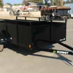 Summit Mfg Alpine 5x10 Landscape Utility Trailer Curbside Front View