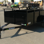Summit Mfg Alpine 5x10 Landscape Utility Trailer Roadside Front View