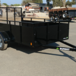 Summit Mfg Alpine 6x10 Landscape Utility Trailer Curbside Front View