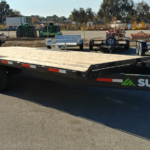 Summit 14K 8.5x20 Over Axle Trailer Front Curbside View