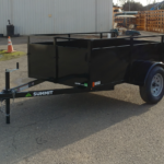 Summit 30SV-8-ALP-LTSP single axle trailer front rs view
