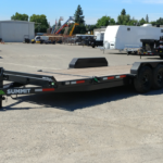 Summit Trailers 14TL-20-DEN-GRY front RS view
