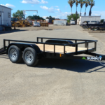 Summit Trailers 60LA-10-ALP-RG front CS view with rear ramp down