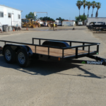 Summit Trailers 60LA-12-ALP-RG front CS view with rear ramp down