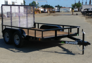 Summit Trailers 65LA-10-ALP-RG front CS view