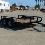 Summit Trailers 65LA-10-ALP-RG front CS view with rear ramp down
